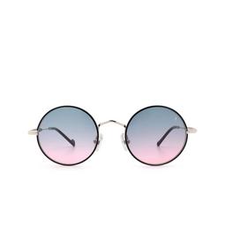 Eyepetizer® Sunglasses: Quatre color Black C.1-F-A-20.