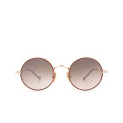 Eyepetizer® Sunglasses: Quatre color Pinkish Brown C.9-E-J-18F.