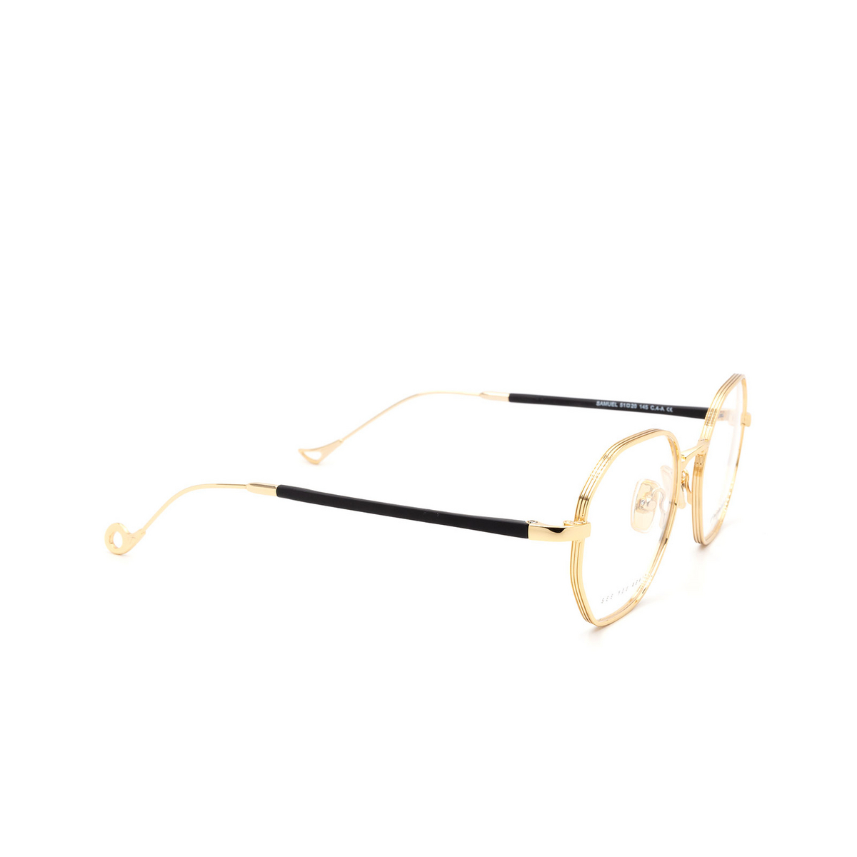 Eyepetizer® Irregular Eyeglasses: Samuel color Gold C 4-A.