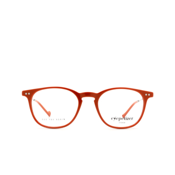 Eyepetizer® Square Eyeglasses: Sept color Orange C.1-K.