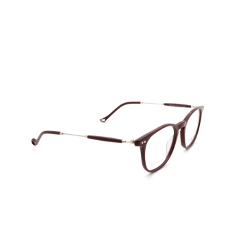Eyepetizer® Square Eyeglasses: Sept color Bordeaux C.1-P.
