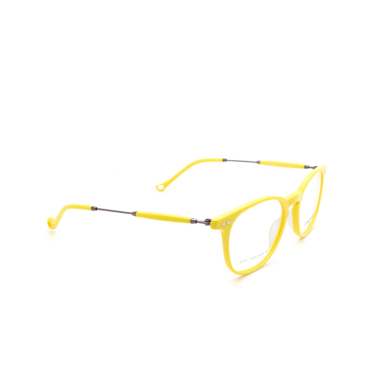 Eyepetizer® Square Eyeglasses: Sept color Yellow C.3-U.