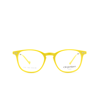 Eyepetizer® Square Eyeglasses: Sept color Yellow C.3-U.
