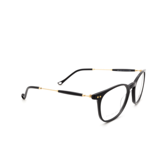 Eyepetizer® Square Eyeglasses: Sept color Black C.4-A.