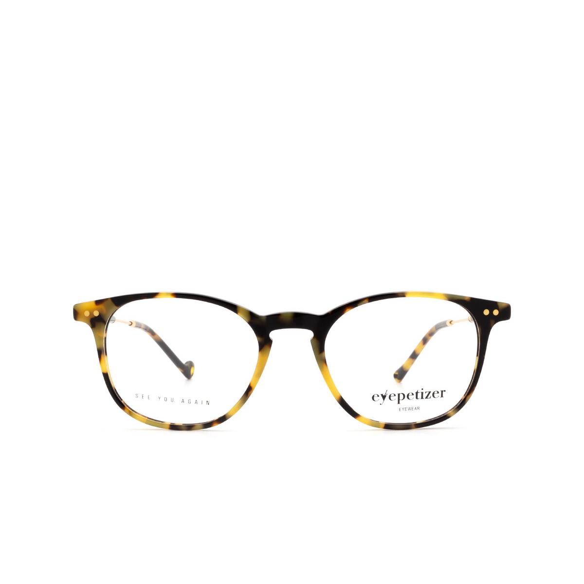 Eyepetizer® Square Eyeglasses: Sept color Havana C.4-F.