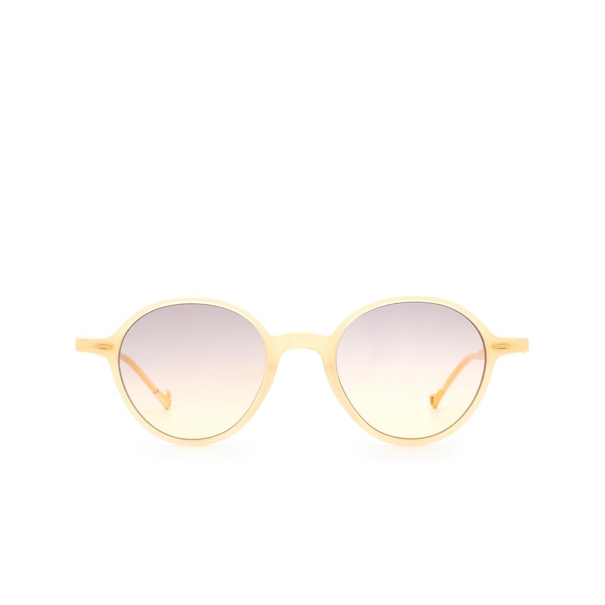 Eyepetizer® Round Sunglasses: Sforza color Honey C.C/C-19 - front view.