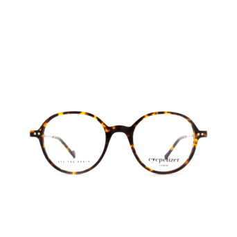 Eyepetizer® Round Eyeglasses: Six color Dark Havana C.1-I.