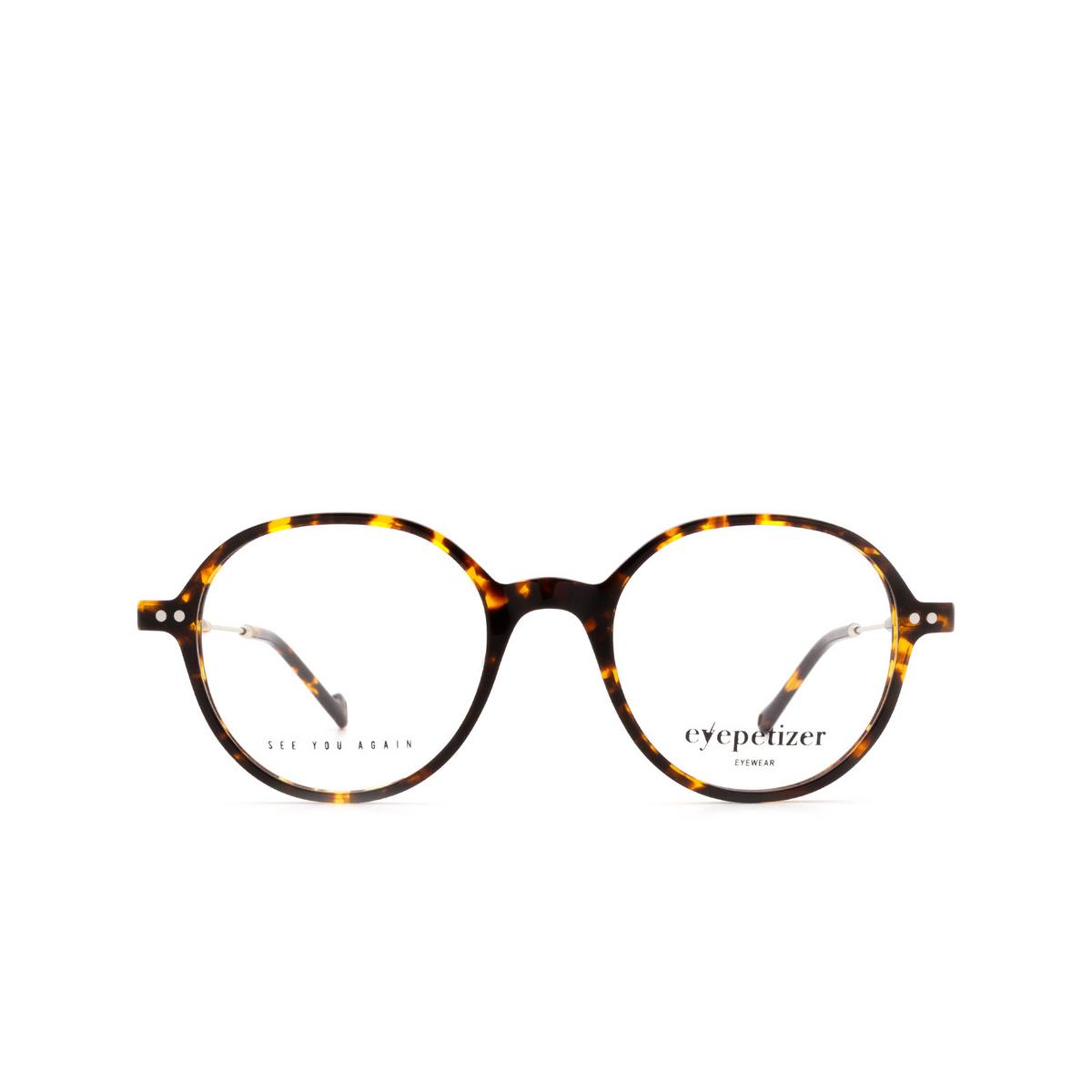 Eyepetizer® Round Eyeglasses: Six color Dark Havana C.1-I.