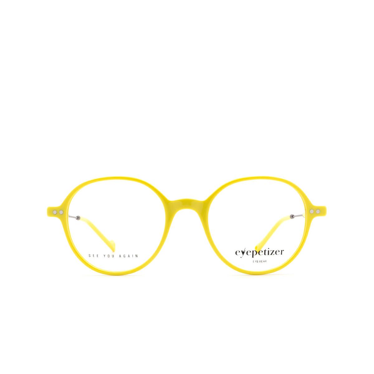 Eyepetizer® Square Eyeglasses: Six color Yellow C.3-U.