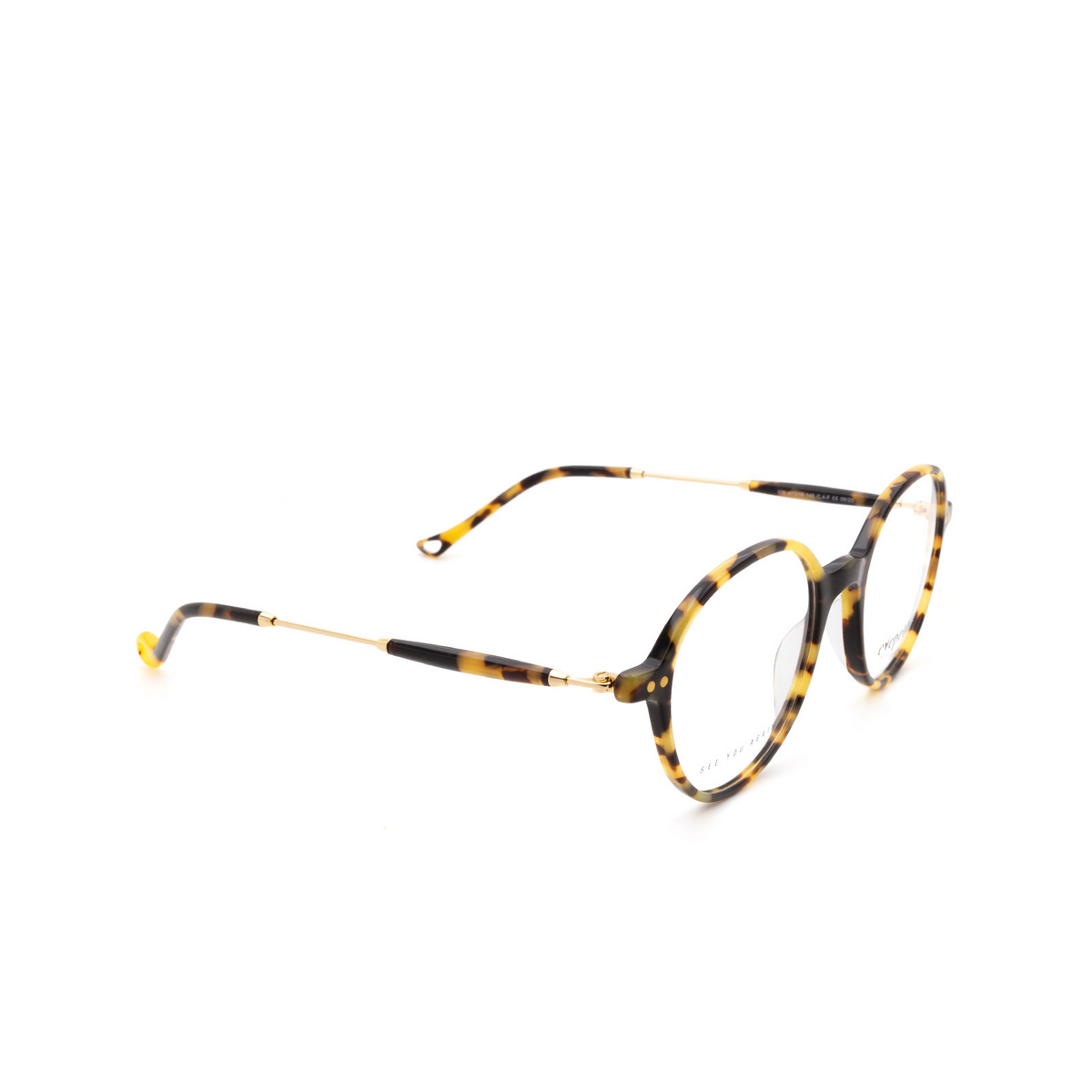 Eyepetizer® Square Eyeglasses: Six color Havana C.4-F.