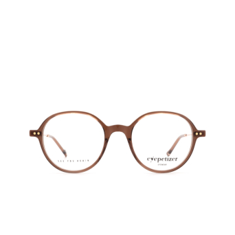 Eyepetizer® Round Eyeglasses: Six color Brown C.9-D/D.