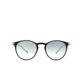 Eyepetizer® Round Sunglasses: Springs color Black C.A-4-25F.