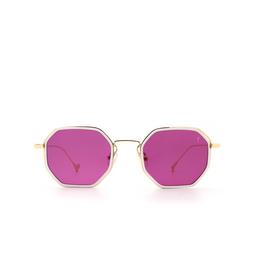 Eyepetizer® Sunglasses: Tommaso color Matte White C.C-4-3.