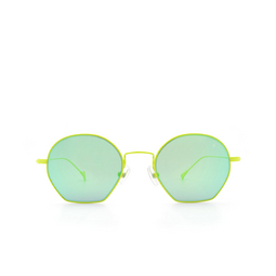 Eyepetizer® Sunglasses: Triomphe color Green Lime C.12-36.