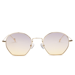 Eyepetizer® Sunglasses: Triomphe color Gold C.4-19.