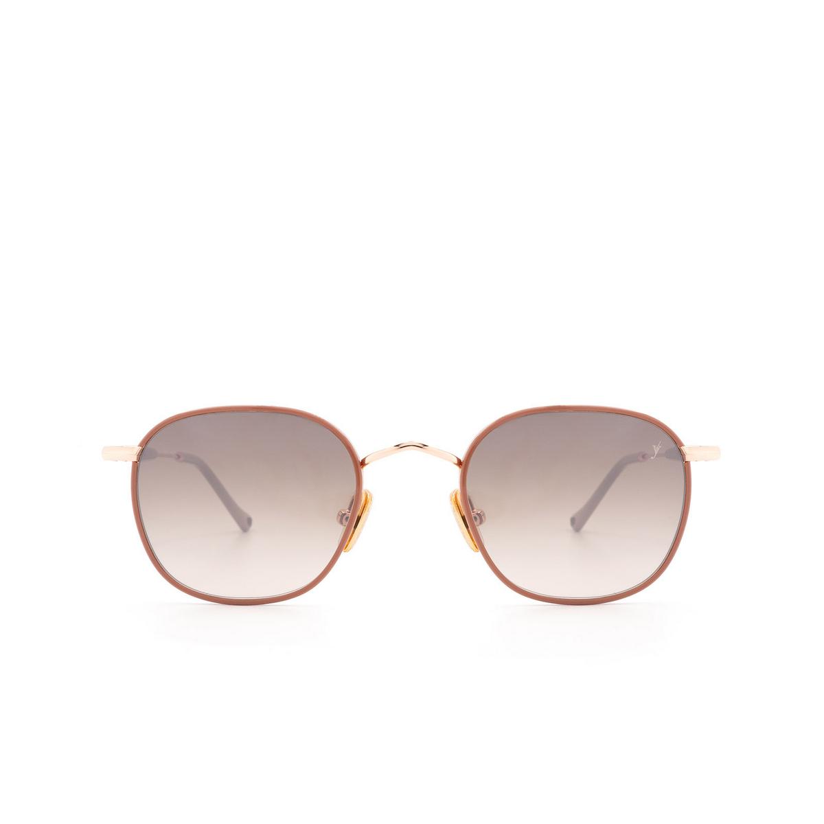 Eyepetizer® Square Sunglasses: Trois color Pink C.9-E-J-18F - front view.