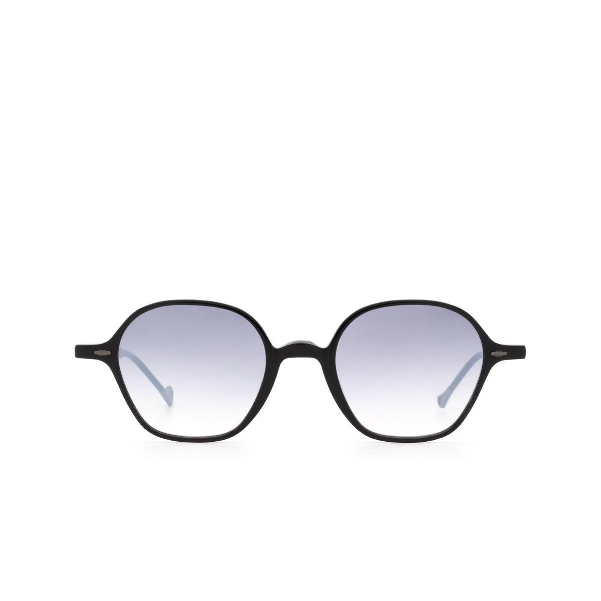 Eyepetizer® Irregular Sunglasses: Visconti color Black C.A-27F - front view.