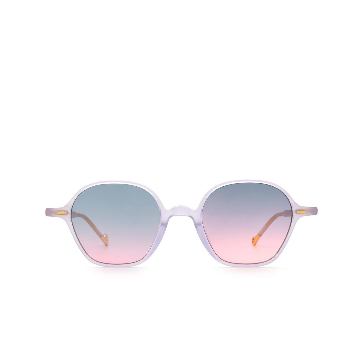 Eyepetizer® Irregular Sunglasses: Visconti color Lilac C.B/B-20 - front view.