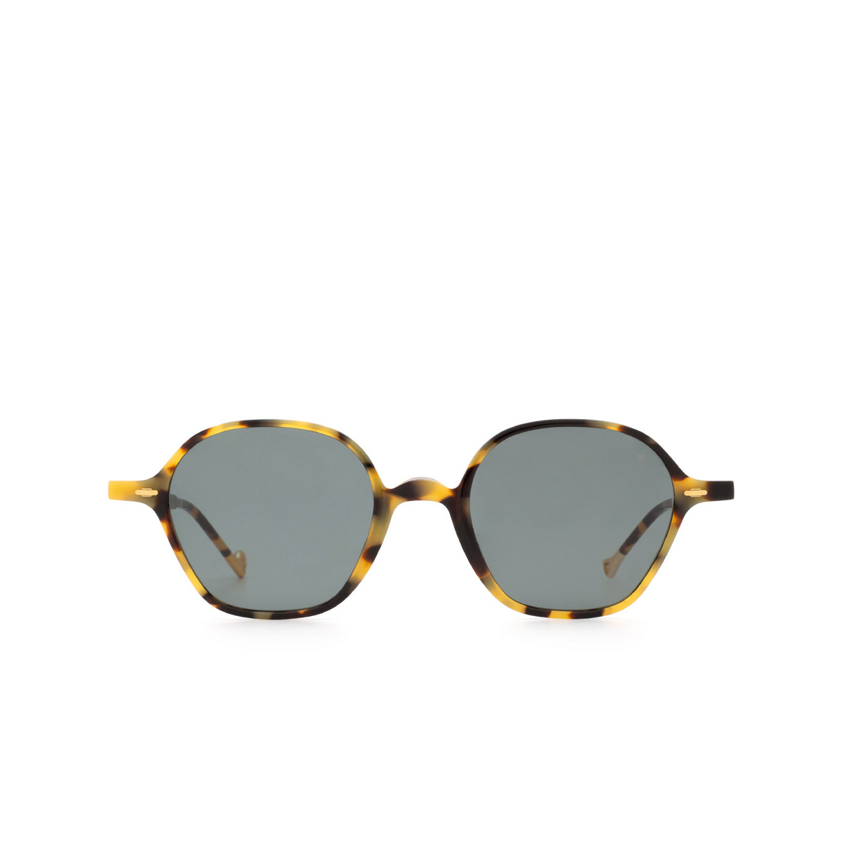 Eyepetizer® Irregular Sunglasses: Visconti color Havana C.F-40 - front view.