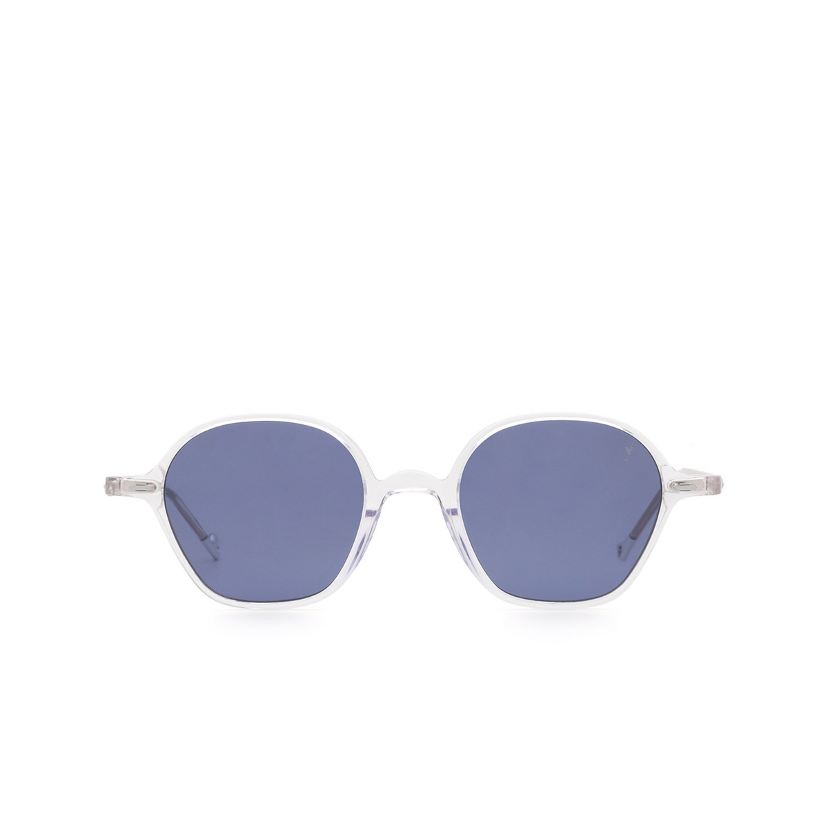 Eyepetizer® Irregular Sunglasses: Visconti color Crystal C.Y-39 - front view.