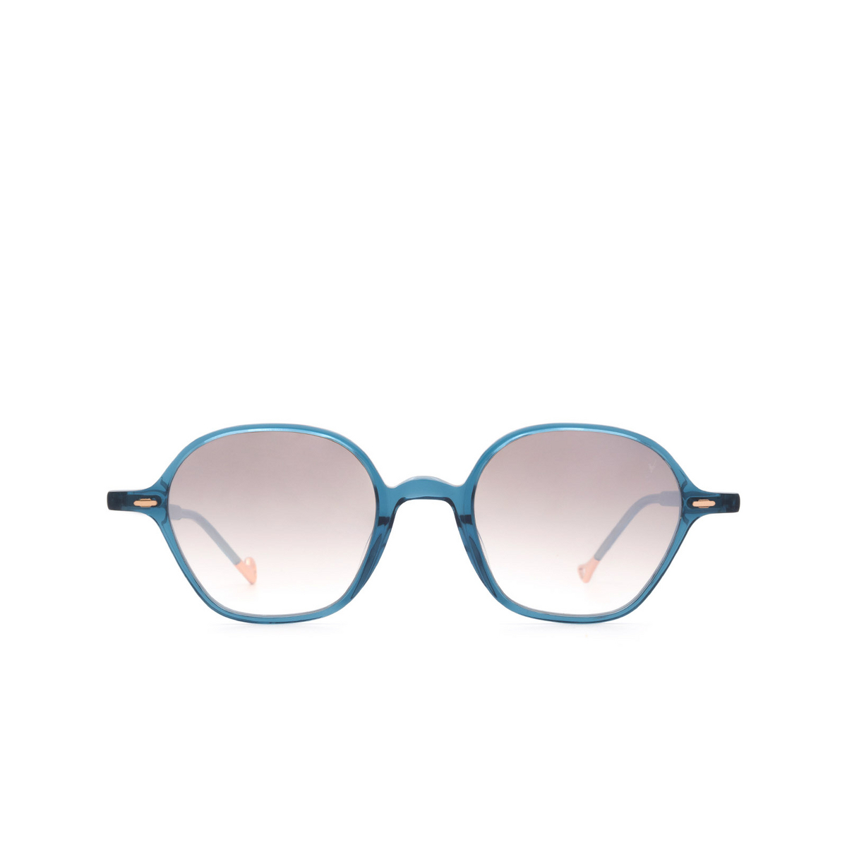 Eyepetizer® Irregular Sunglasses: Visconti color Blue C.Z-18F - front view.