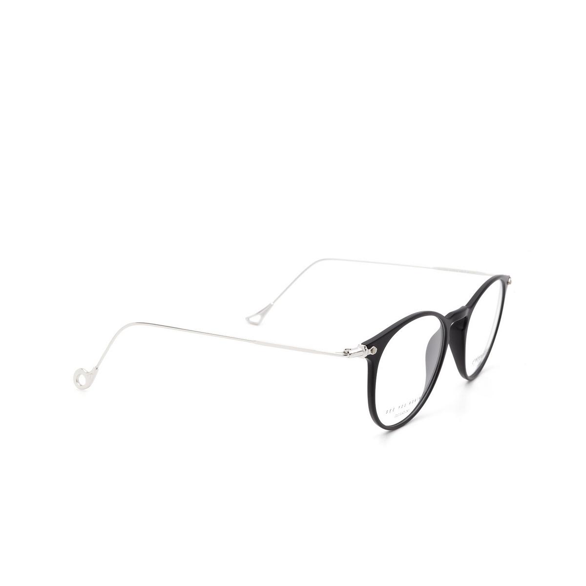 Eyepetizer® Round Eyeglasses: Wilson Optical color Black C A-1.