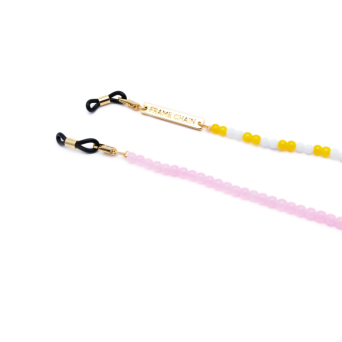 Frame Chain® Accessories: Candy Lace color Pink.