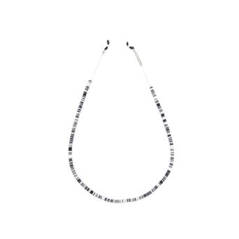 Frame Chain® Accessories: Candy Rain Black color White Gold.