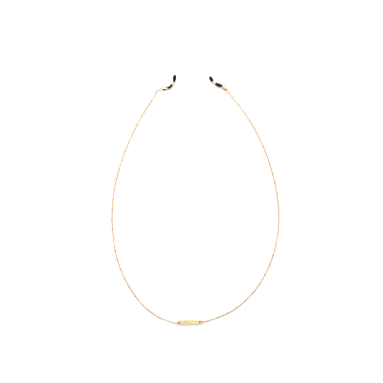 Frame Chain® Accessories: Dotty color Yellow Gold.