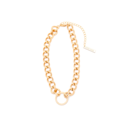 Frame Chain HOOKER DIAMOND YELLOW GOLD  (1)