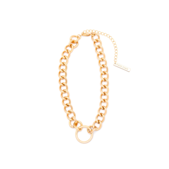 Frame Chain® Accessories: Hooker Diamond color Yellow Gold.