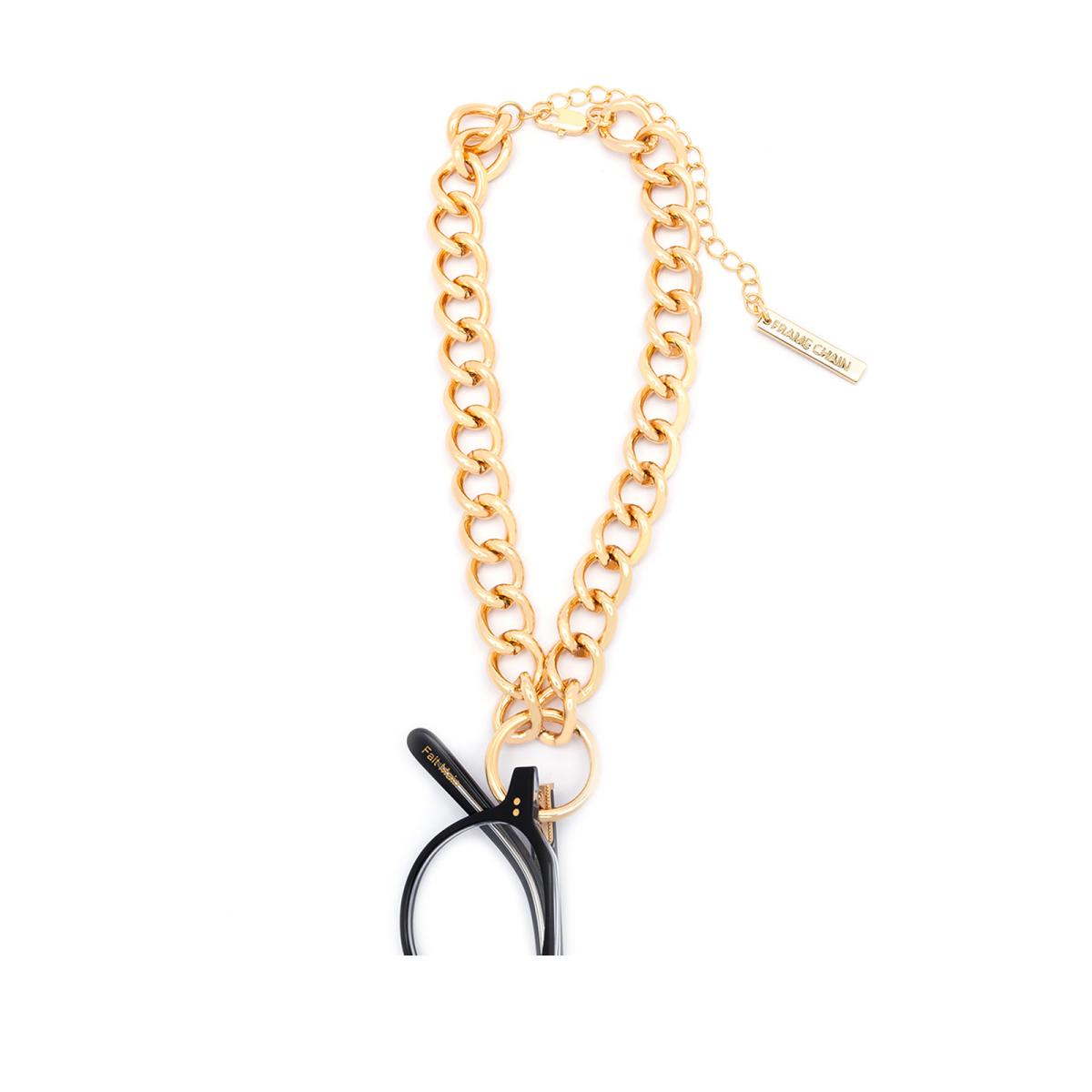 Frame Chain HOOKER DIAMOND YELLOW GOLD  (2)