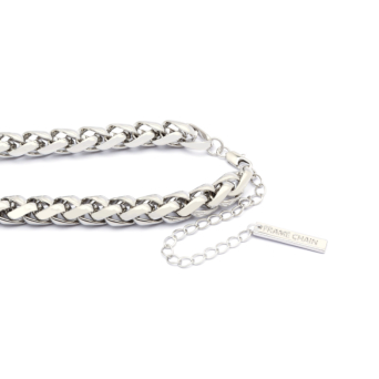 Frame Chain® Accessories: Hooker Monkey color White Gold.