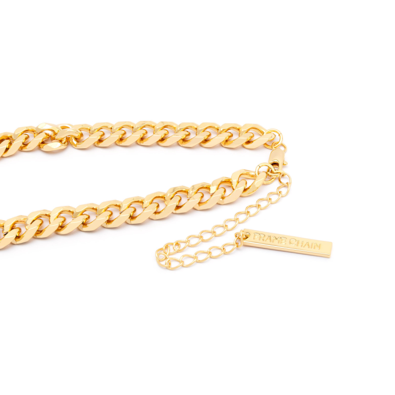 Frame Chain® Accessories: Hooker color Yellow Gold.
