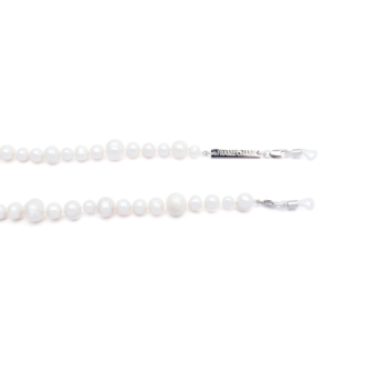 Frame Chain® Accessories: Pearly Queen color White Gold.