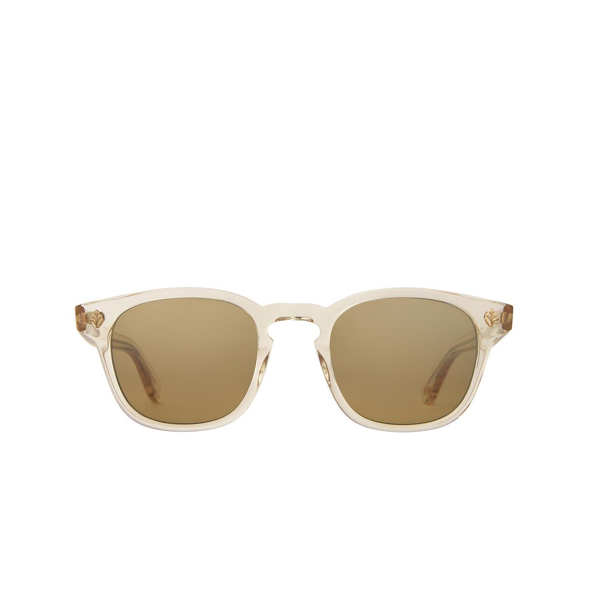 Garrett Leight® Square Sunglasses: Ace Sun color Prosecco Pro/sfhm.
