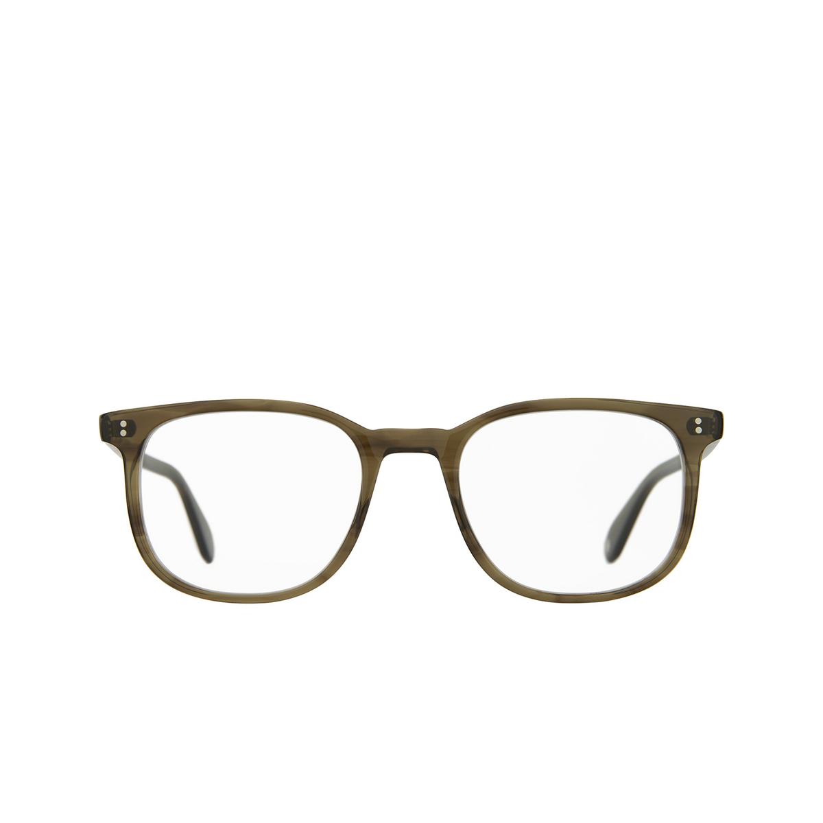 Garrett Leight® Square Eyeglasses: Bentley color Olive Tortoise Ot.