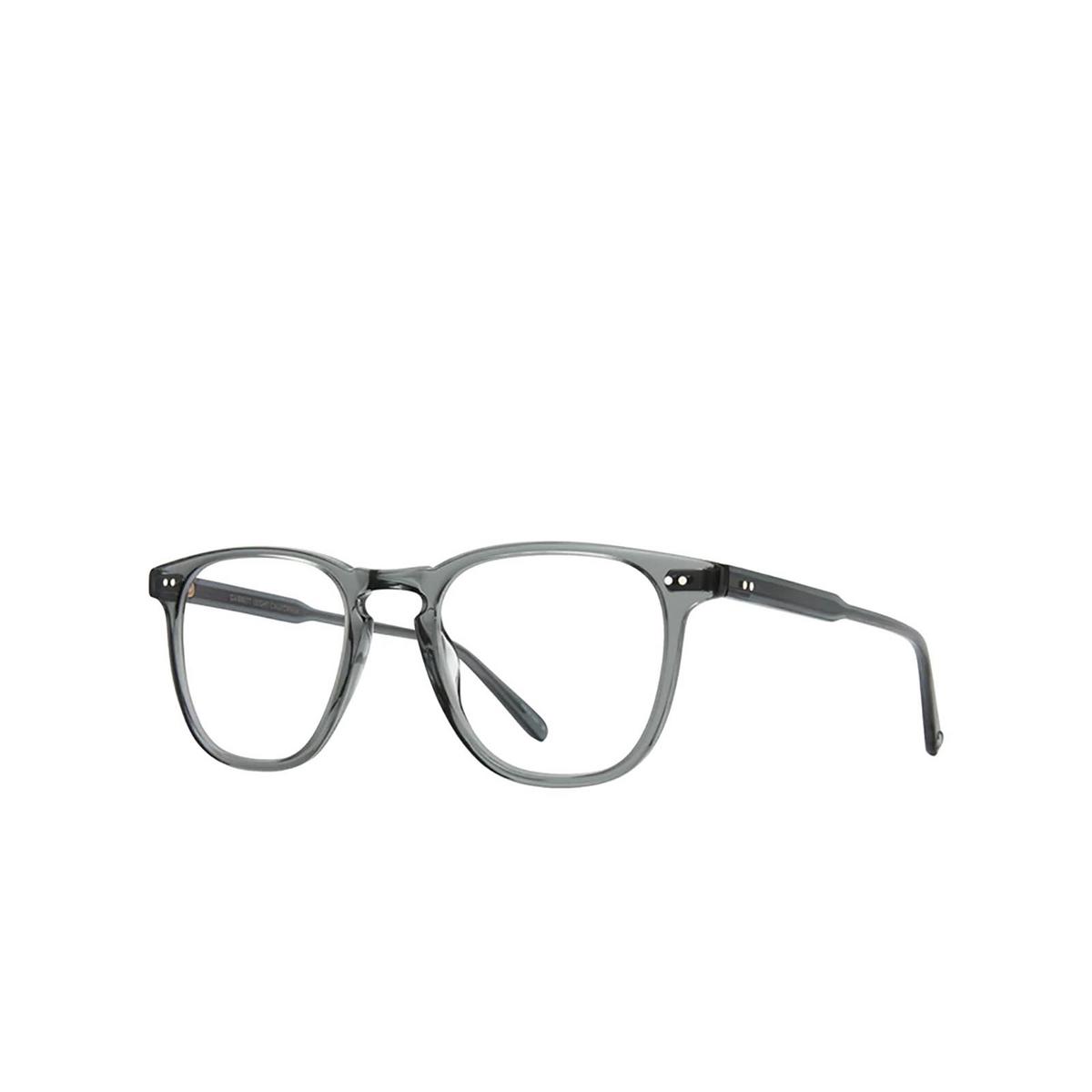 Garrett Leight® Square Eyeglasses: Brooks color Sea Grey Sgy - three-quarters view.