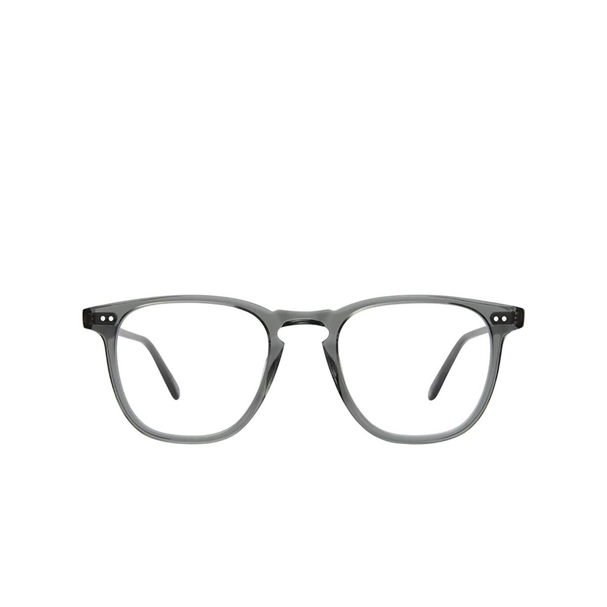 Garrett Leight® Square Eyeglasses: Brooks color Sea Grey Sgy - front view.