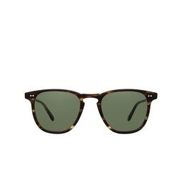 Garrett Leight® Sunglasses: Brooks Sun color Matte Storm Tortoise MSTMT/PG15.