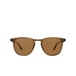Garrett Leight® Sunglasses: Brooks Sun color Olive Tortoise Olv/baplr.