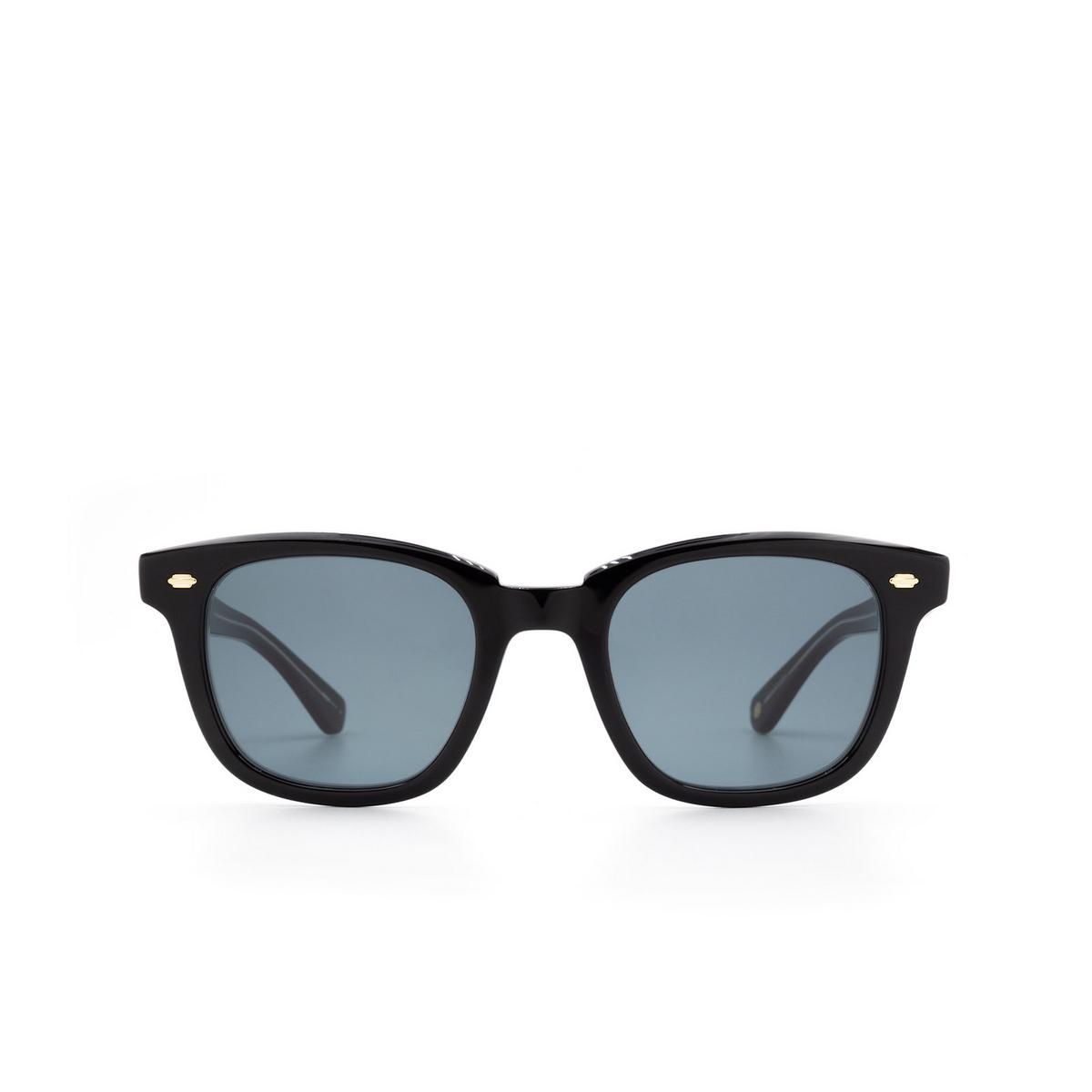 Garrett Leight® Sunglasses: Calabar color Black Laminate Bklcy-sfbs.