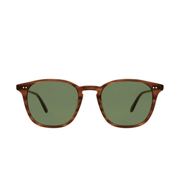 Garrett Leight® Square Sunglasses: Clark Sun color Demi Blonde Db/sfpgn.