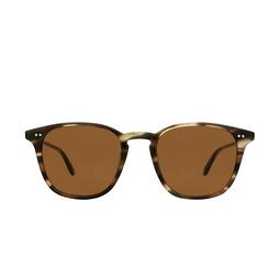 Garrett Leight® Square Sunglasses: Clark Sun color Kodiak Tortoise Kot/sfpbn.