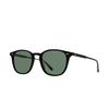 Garrett Leight® Square Sunglasses: Clark Sun color Matte Black MBK/SFPG15 - product thumbnail 2/2.
