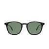 Garrett Leight® Square Sunglasses: Clark Sun color Matte Black MBK/SFPG15 - product thumbnail 1/2.