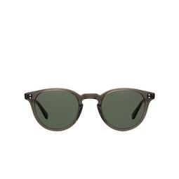 Garrett Leight® Sunglasses: Clement Sun color Black Glass BLGL-PG15.