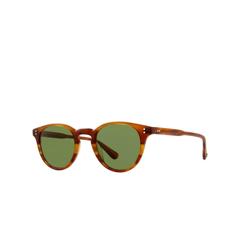Garrett Leight® Square Sunglasses: Clement Sun color Matte Honey Amber Tort Mhat-pgn.