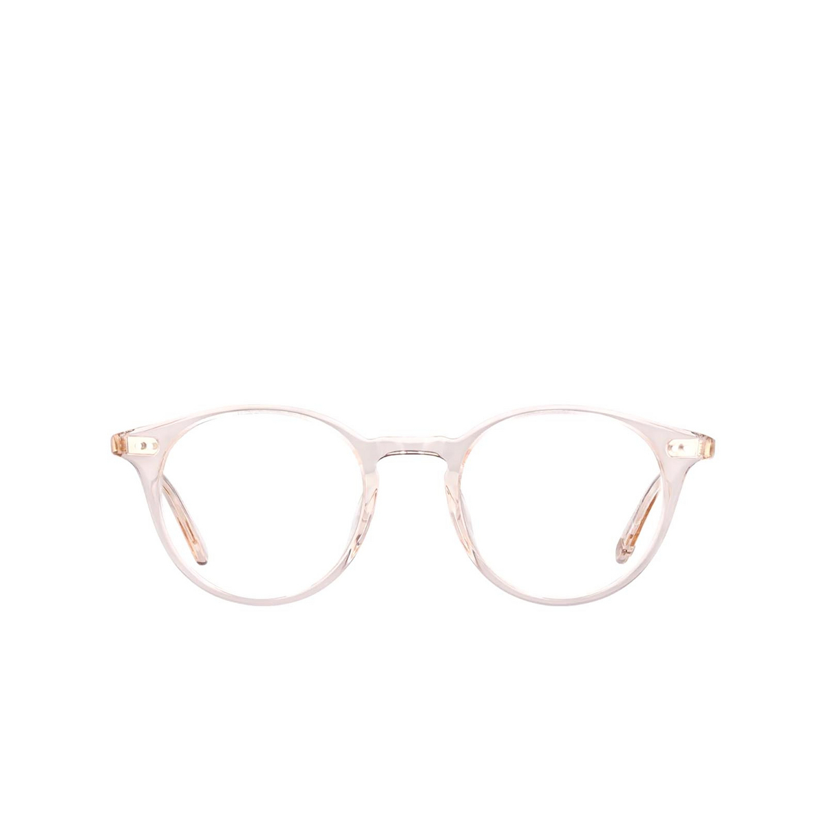 Garrett Leight® Round Eyeglasses: Clune color Shell Crystal Shcr.