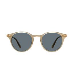 Garrett Leight® Round Sunglasses: Clune Sun color Blonde B-sfbs.